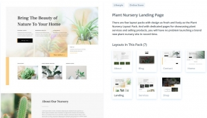 Plant Nursery DIVI
